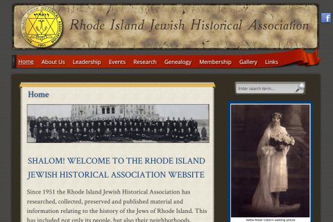 Rhode Island Jewish Historical Association