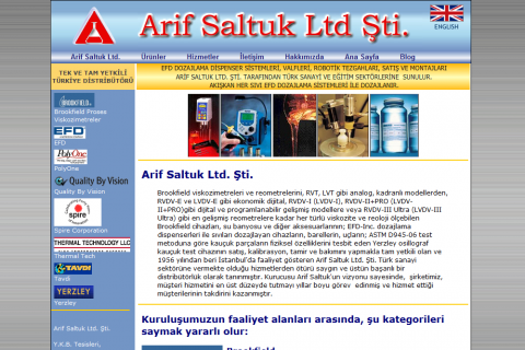 Arif Saltuk, Ltd. Co.