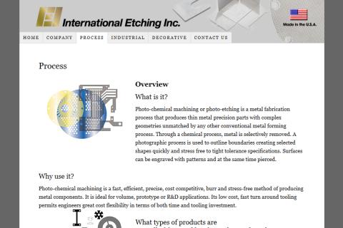 International Etching
