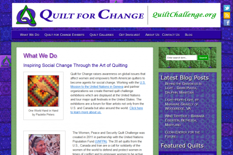 Quilt for Change
