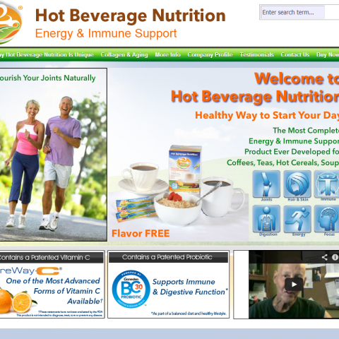 Hot Beverage Nutrition